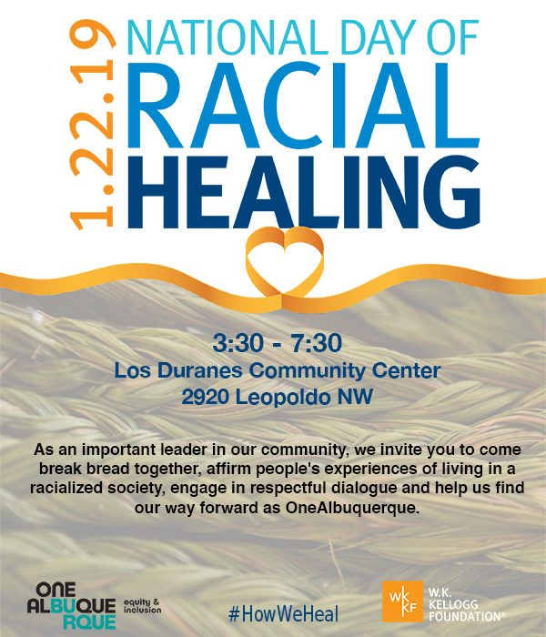 National Day of Racial Healing with OneAlbuquerque