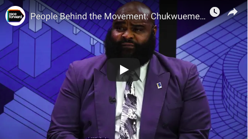 The People Behind the Movement: Chuckwuemeka Manning