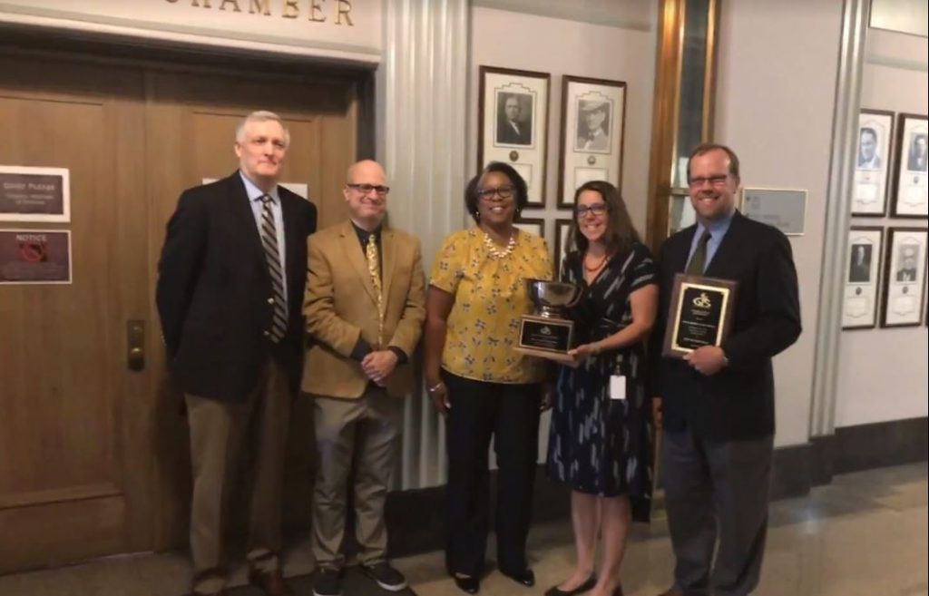 City of Asheville earns GIS award for racial equity mapping project!